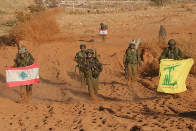 Israelis soldiers return from southern Lebanon in northern Israel